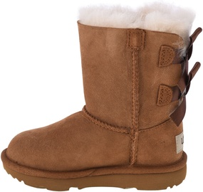 UGG Kids Bailey Bow II Boot 1017394T-CHE Chestnut 25