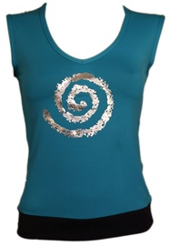 Bars Womens T-Shirt Blue 129 L