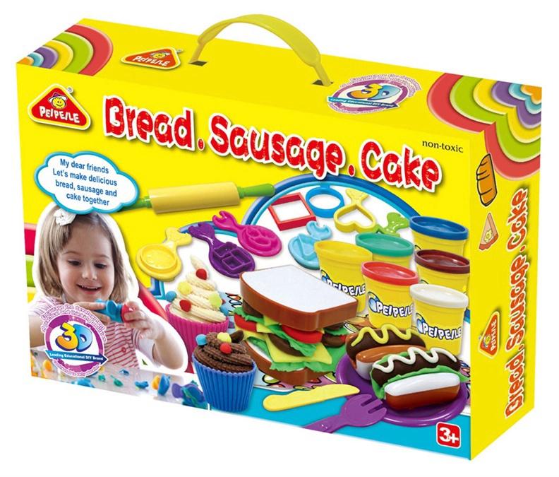 Modelino rinkinys Peipeile Bread Sausage Cake 3245A