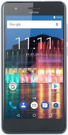 MyPhone City 16GB Dual Silver Sky