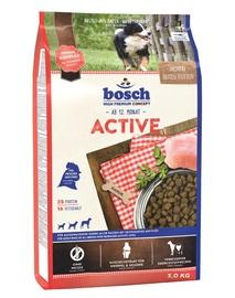 Сухой корм для собак Bosch PetFood Active, 3 кг