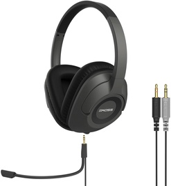 Koss SB42 3.5mm Over Ear Headphones Black/Grey