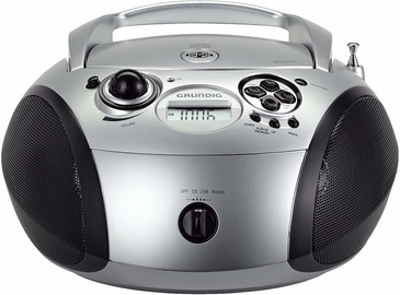 Grundig GRB 2000 CD Player Silver Black