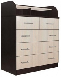 MN Standart 1 Chest Of Drawers Wenge/Sonoma Oak