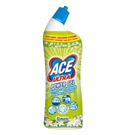 Gelinis vonios valiklis Ace Ultra Power, Lemon 750 ml