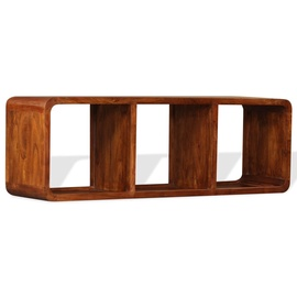 TV-laud VLX Solid Wood with Sheesham Finish, pruun, 1200 mm x 300 mm x 400 mm