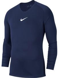 Футболка с длинными рукавами Nike Men's Shirt M Dry Park First Layer JSY LS AV2609 410 Dark Blue S