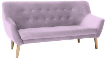 Signal Meble Nordic Sofa 3 Velvet Bluvel 91 Pink