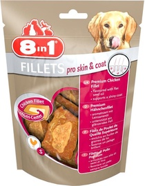 8in1 Fillets Pro Skin & Coat Chicken 80g