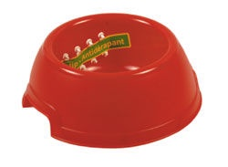 Georplast Plastic Bowl Red 17x6.5cm