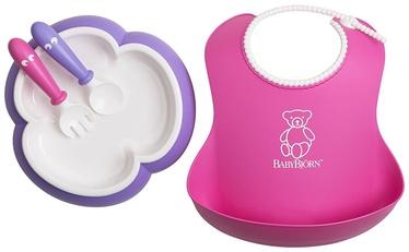 BabyBjorn Baby Feeding Set Pink/Purple 078046