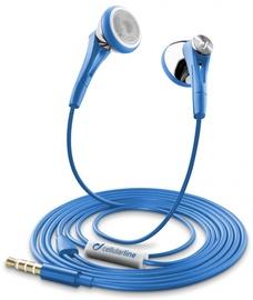 Ausinės Cellular Line Firefly Headset Blue