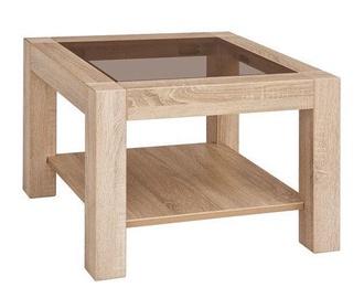 Kafijas galdiņš Black Red White Rumbi, ozola, 640x640x460 mm