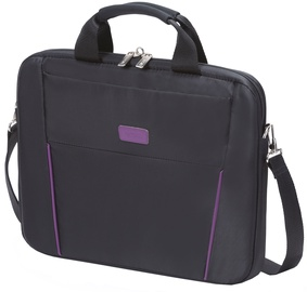 Dicota Slim Case Base 14 - 15.6 Black Purple Notebook Case