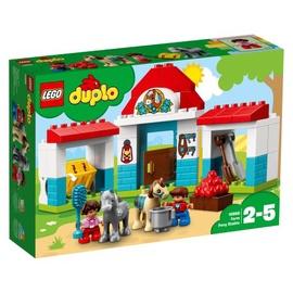 Konstruktorius LEGO Duplo, Ponių arklidės 10868