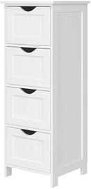 Songmics Side Cabinet White 30x82cm