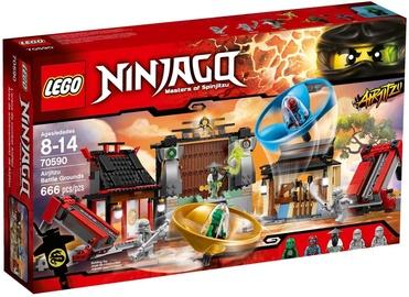 Konstruktorius LEGO Ninjago Airjitzu Battle Grounds 70590