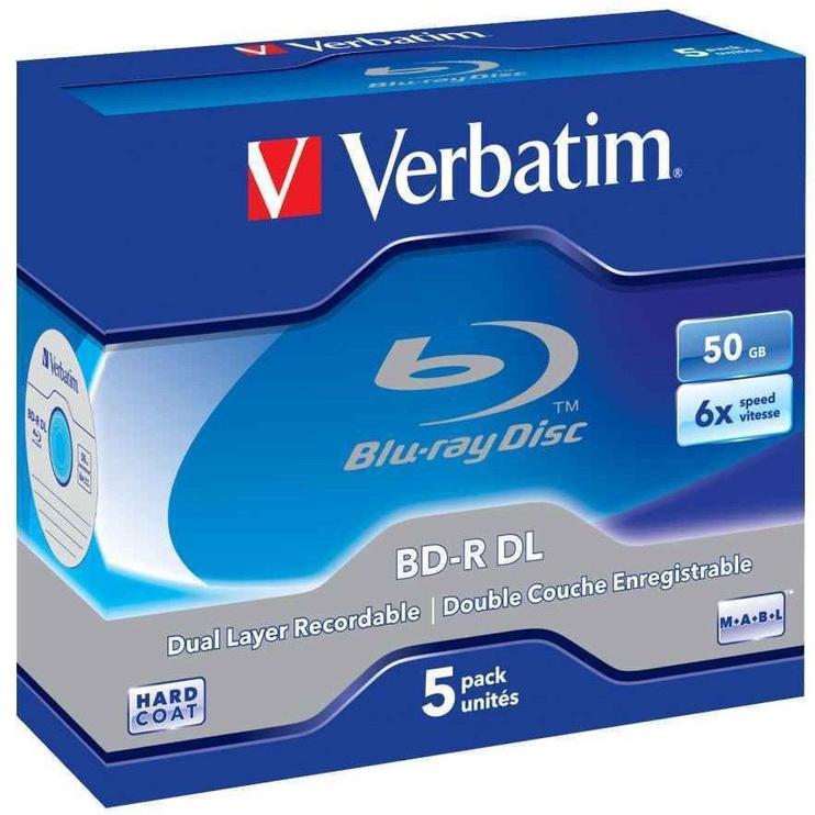 Накопитель данных Verbatim BD-R DL JC 50GB 6x 5pcs