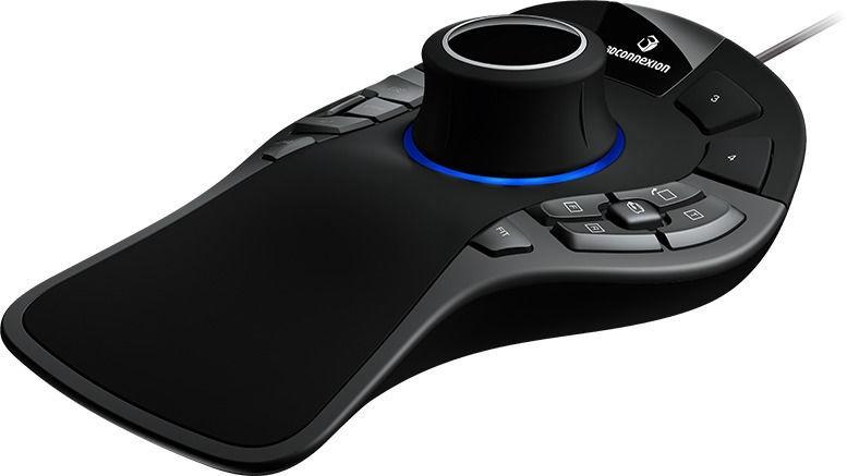 3Dconnexion SpaceMouse Pro Mouse Black