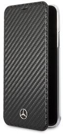 Mercedes Dynamic Book Case For Apple iPhone XR Black