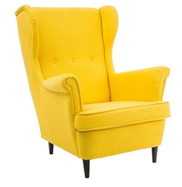 Signal Meble Lord Armchair Yellow