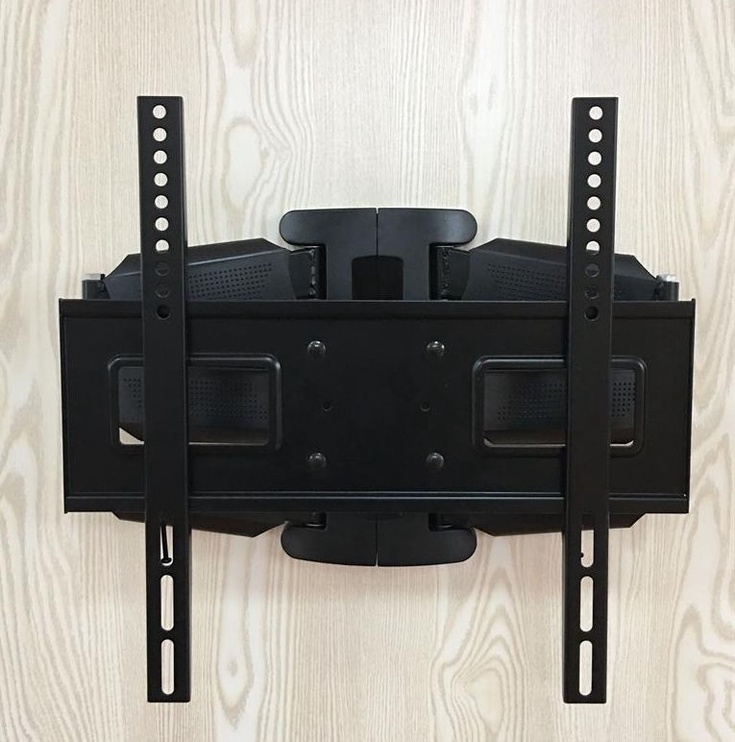 Televizoriaus laikiklis ART Holder For LCD/LED 23-65'' Vertical/Level Double Arm Black