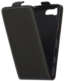 Mocco Kabura Rubber Vertical Opens Case For Samsung Galaxy A5 A520 Black