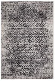 Ковер Evelekt Lotto 3, белый/черный, 150 см x 100 см