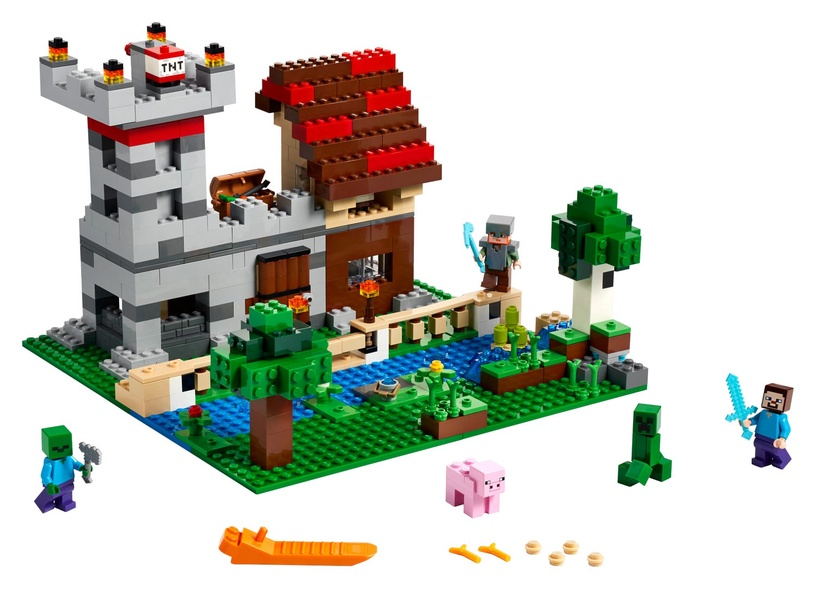 LEGO Minecraft The Crafting Box 3.0 21161