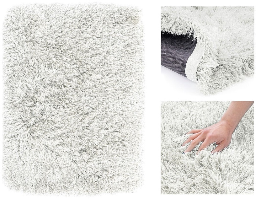 Paklājs AmeliaHome Floro, balta, 200x140 cm