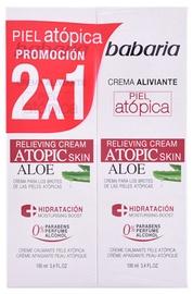Babaria Atopic Skin Relieving Cream With Aloe Vera 2 x 100ml