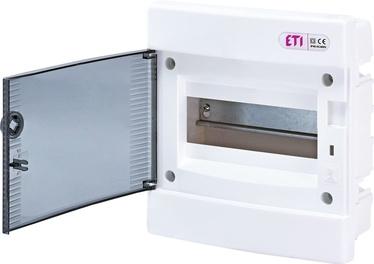 Modulinis skydas ETI ECM8PT, 8 modulių, potinkinis, IP40