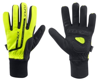 Force X72 Winter Full Gloves Yellow/Black XXL