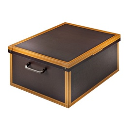 Dėžė su dangčiu ir rankena, 50 x 40 x 25 cm