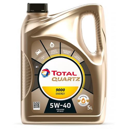Sintētiska Motoreļļa Total Quartz 9000 Energy 5w40, 5l