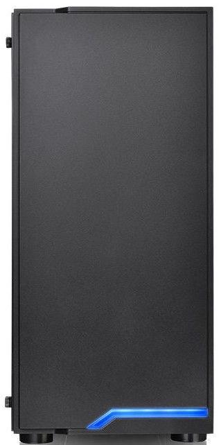 Thermaltake H100 TG ATX Mid-Tower Case Black