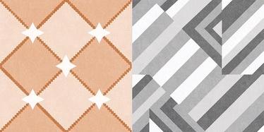 Azulindus y Marti Bristol Floor/Wall Tile 25.7x51.5cm Colour