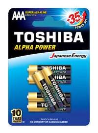 Toshiba Alfa Power AAA Alkaline Battery 6x