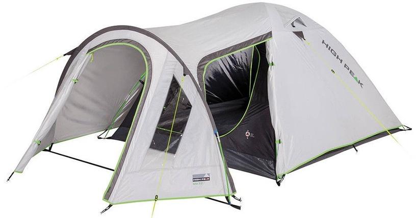 Četrvietīga telts High Peak Kira 4 10373, pelēka