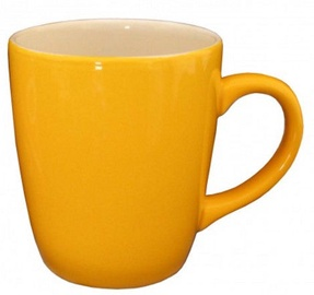 Cesiro Mug 400ml Yellow/White