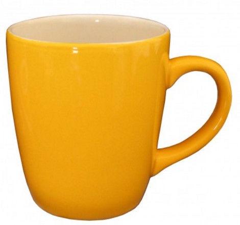 Cesiro Mug 400ml Yellow/White
