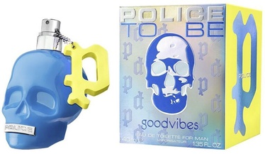 Tualetes ūdens Police To Be GoodVibes EDT, 40 ml