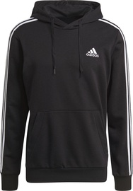 Джемпер Adidas Essentials 3 Stripes Hoodie GK9062 Black S