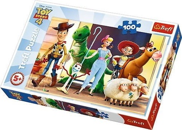 Trefl Toy Story 4  Lets Play Puzzle 100pcs