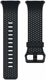 Fitbit Ionic Perforated Horween Leather Band Midnight Blue Small
