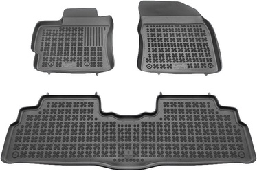 Guminis automobilio kilimėlis REZAW-PLAST Toyota Verso 2009, 3 vnt.