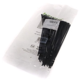 Haupa Cable Tie 2.5x142 Black