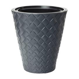 Вазон Makata 2800-014, черный