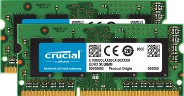 Operatīvā atmiņa (RAM) Crucial CT2K4G3S160BJM DDR3 (SO-DIMM) 8 GB CL11 1600 MHz