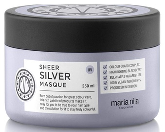 Juuksemask Maria Nila Sheer Silver, 250 ml